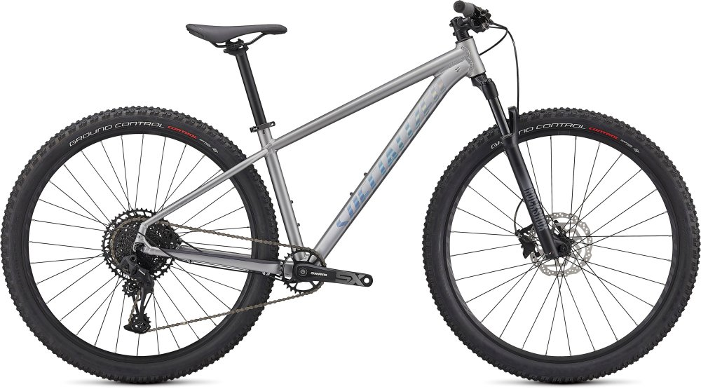 Specialized Rockhopper Expert 29 SATIN SILVER DUST / BLACK HOLOGRAPHIC L