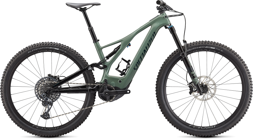 Specialized Turbo Levo Expert Carbon Sage Green / Forest Green L